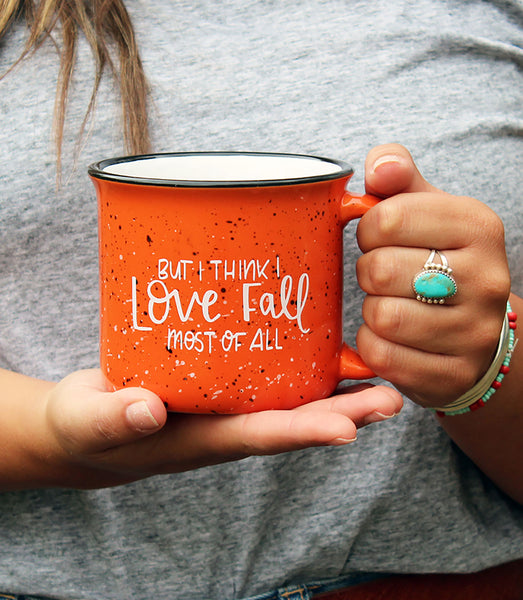 Fall Most of All Campfire Mug