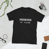 HUSBAND - Personalized Marriage Date Tee