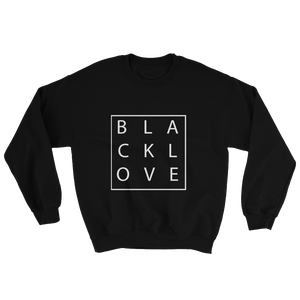 Love Box Sweatshirt - Blk