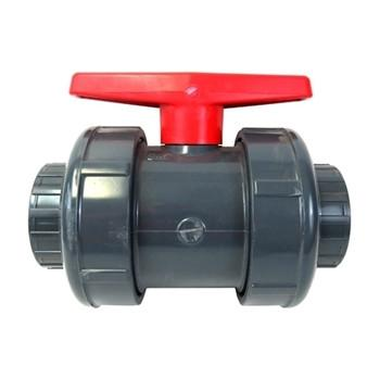 "3"" PVC Union Ball Valve - Slip SKU: BTU-3000-SE"