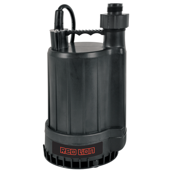Red Lion Thermoplastic Utility Pump 1/4 HP