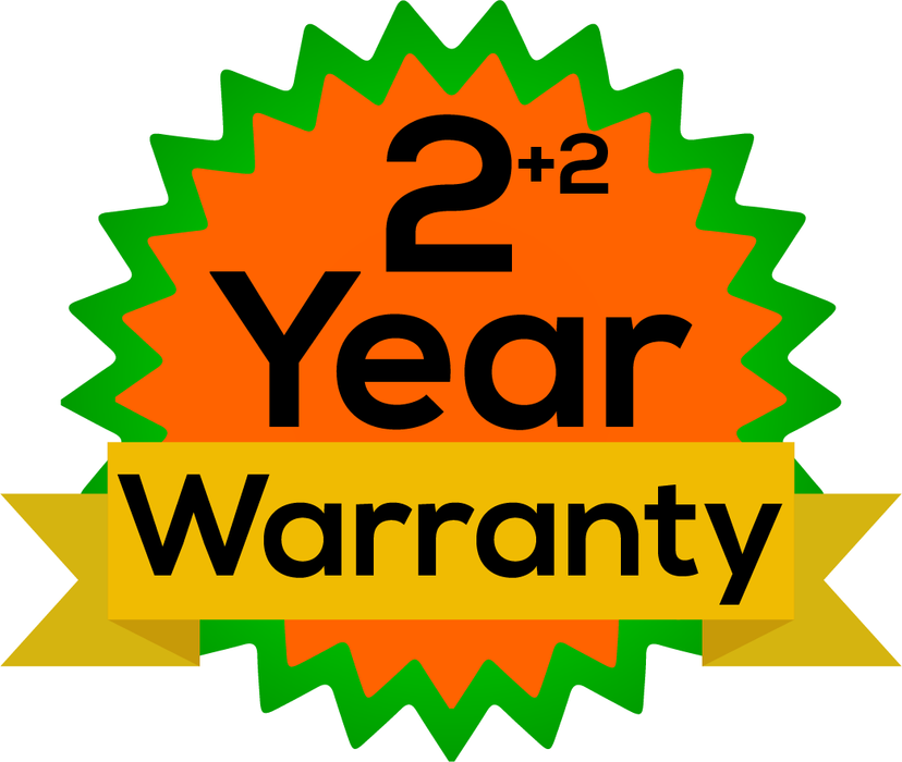 Extended Warranty 2 Year - SKU 50CR2.15S