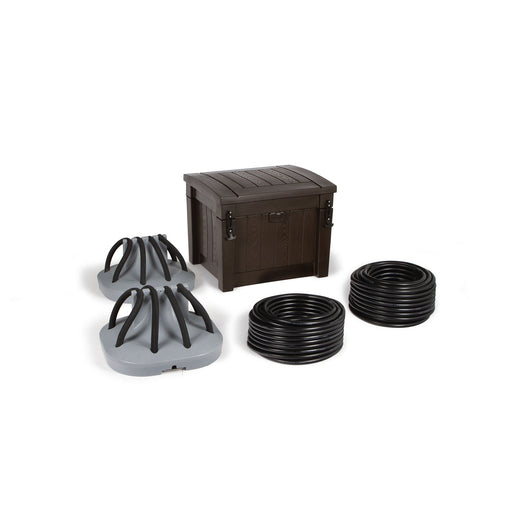 Atlantic Deep Water Aeration System - 2 Diffusers - Gast Compressor