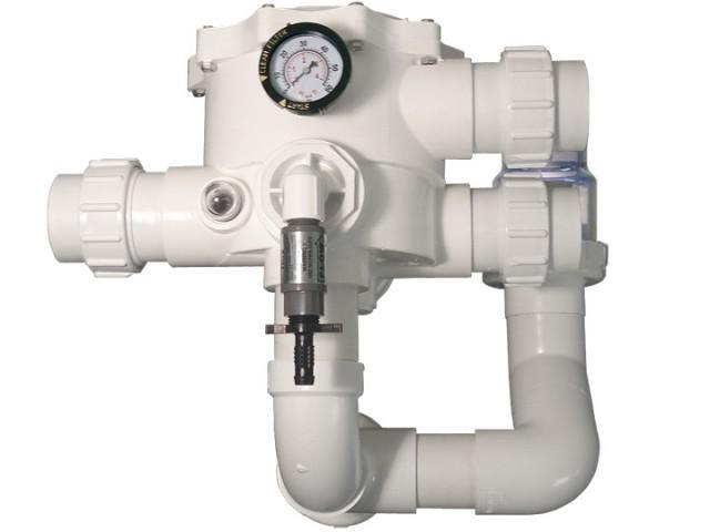 GCTek Multiport Valve with Blower Spring Check