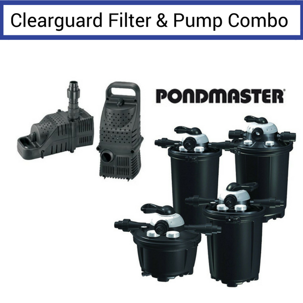 Pondmaster ClearGuard Filter & Pump Combo (NEW)