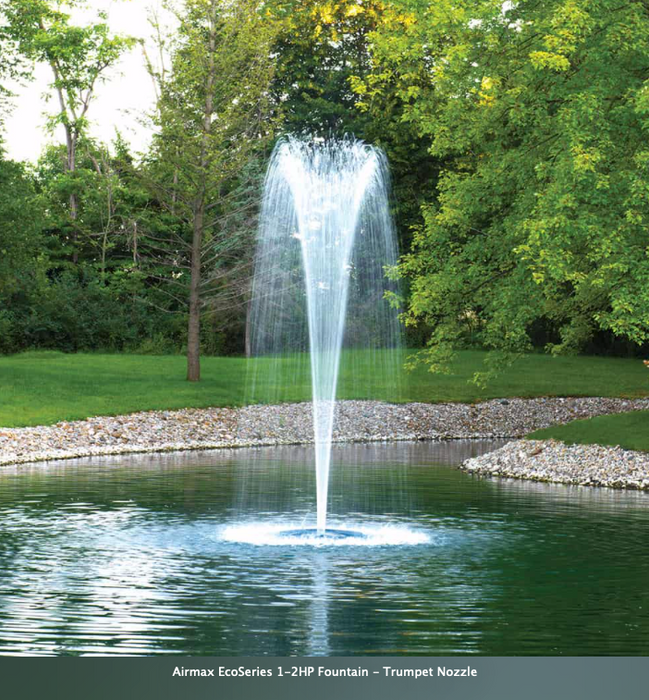 Airmax EcoSeries Fountain with Stainless Steel Braided Cord