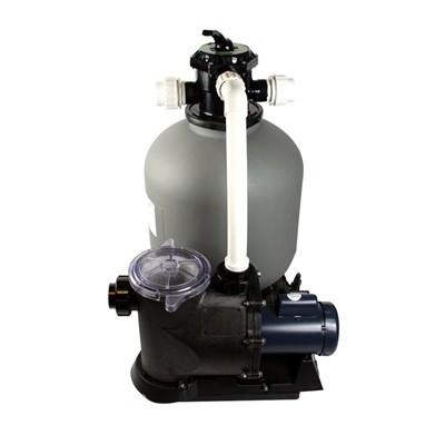 1 HP 300 LB. IN GROUND SAND FILTER SYSTEM