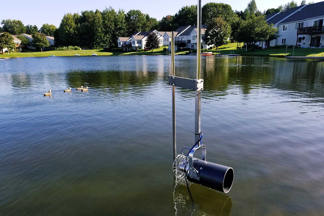 Scott Aerator Free-Standing Post for Aquasweep Muck Blaster