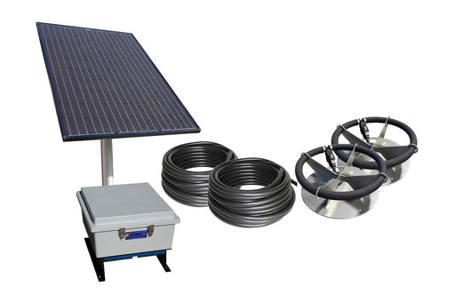 Solar Sub-Surface Aeration System