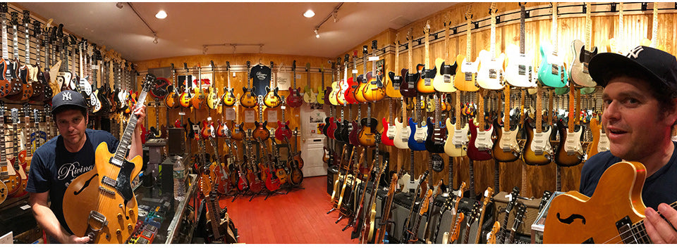 Rivington Guitars - Come In and Visit Us!