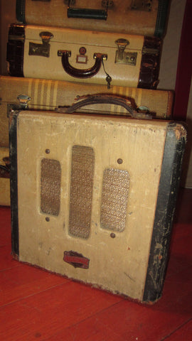 1947 National Valco Small Tube Amp Brown Tolex