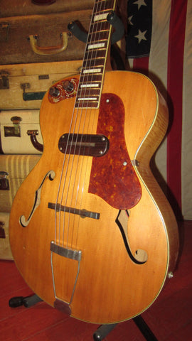 Vintage Original Circa 1949 Kay Sherwood Deluxe Archtop Electric