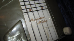 Vintage Original 1949 Magnatone  Melody Melodier Lap Steel Mother of Toilet Seat