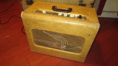 Vintage 1952 National Model 1201 2x8 Combo Amp