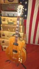 1953 Silvertone Model 1367 Deluxe Archtop Acoustic Electric Natural