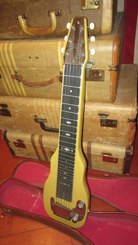 Vintage 1954 Fender Champ Lap Steel w/ Original Case