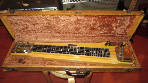 Vintage circa 1955 Fender Champ Lap Steel w/ Original Case