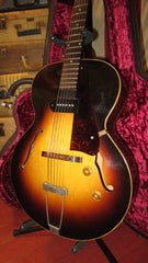 Vintage 1956 Gibson ES-125 Hollow Body Electric Sunburst P-90 w/ Hard Case
