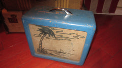 1956 Magnatone Lap Steel Tube Amp Blue with Graphics