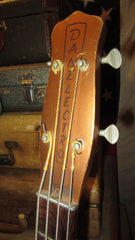Vintage 1959 Danelectro Model 3412 Standard Shorthorn Electric Bass Copper