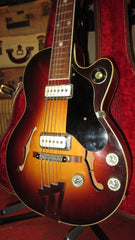 Vintage Original 1959 Premier Multivox Bantam Double Pickup Model E704T Sunburst