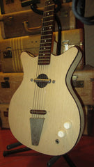 Vintage 1960's Danelectro Convertible Acoustic Electric Guitar w/ Original Lipstick Pickup