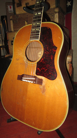 1961 Gibson SJN Country Western Model Natural Great Player Sounds Incredible