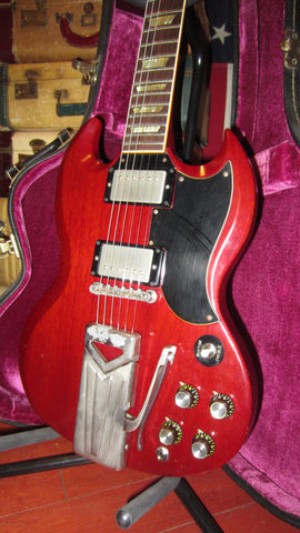 Vintage 1961 Gibson Les Paul SG Standard Cherry Red