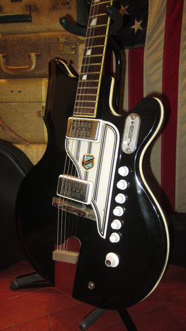 Vintage 1961 National Val Pro 88 Black w/ Original Case