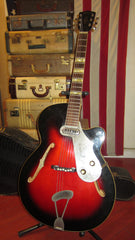 Circa 1962 Framus Model 5759 Sorella Archtop Electric Sunburst