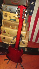 Vintage 1962 Gibson Les Paul SG JR Cherry Red w/ Hard Case
