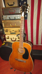 Vintage Harmony Airline Sovereign Jumbo Acoustic Guitar