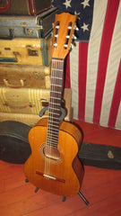 1963 Gibson C-0 Classical Nylon String Acoustic Natural w/ Original Hard Case