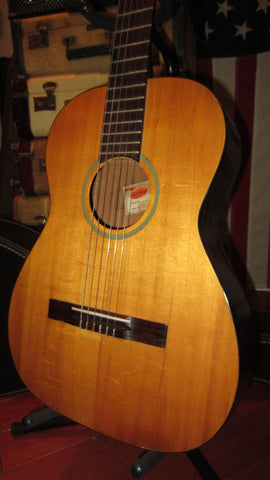 Vintage Original 1963 Gretsch Classical Nylon String Guitar Natural