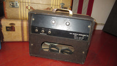 1963 Kay Model 703 Small Tube Combo Amp Two Tone Brown