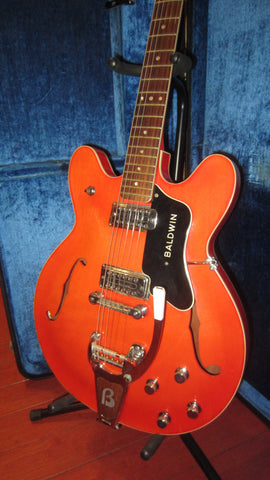 1964 Baldwin Model 706V Hollowboy with Tremolo Orange