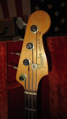 Vintage 1964 Fender Jazz Bass Pre-CBS Custom Color Blonde w/ Original Case