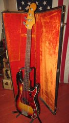 Vintage 1964 Fender Precision Bass Sunburst