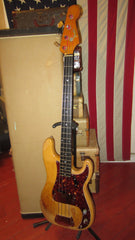 1964 Fender Precision Bass Natural Refinished Plays and Sounds Fantastic