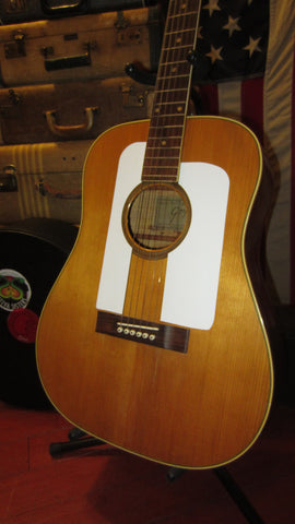 1964 Goya F-20 Dreadnought Acoustic Natural