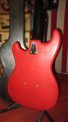 Vintage Original 1964 Hagstrom Hagstrom I Double Pickup Electric Red
