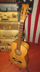 Vintage 1964 Silertone  Classical Nylon String Acosutic Natural w/ Original soft case