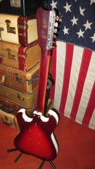 1964 Silvertone Model 1457 Electric Solidbody 2 Pickup Redburst