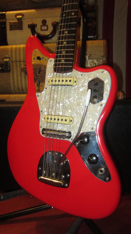 1965 Fender Jaguar Fiesta Red