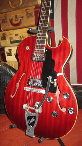 Vintage Original 1965 Guild Starfire III Red