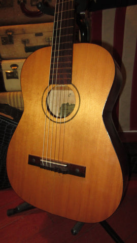1965 Kay Classical Nylon String Acoustic Model 7010 Natural