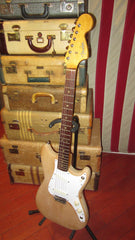 ~1966 Fender Musicmaster Duo Sonic Natural w Double Pickups Made in USA