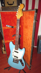 Vintage Original 1966 Fender Mustang Daphne Blue Finish