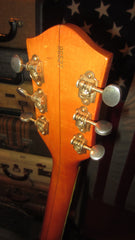 Vintage 1966 Gretsch Chet Atkins Model 6120 Western Orange Original Hard Case