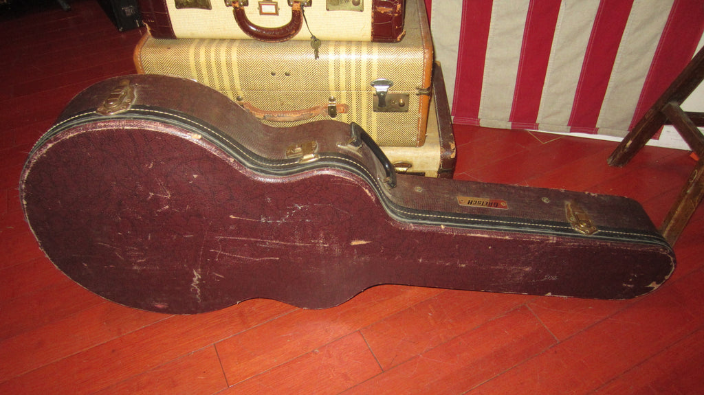 Vintage Original 1960s Gretsch Hardshell Case Anniversary Model 6120 Chet Atkins Or Similar